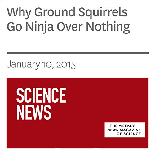 Why Ground Squirrels Go Ninja Over Nothing audiobook cover art