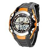 CXJC Una variedad de relojes de alumnos opcionales de color, relojes de pantalla LED de montañismo al aire libre, relojes electrónicos deportivos multifuncionales, resistentes a los arañazos, duradero