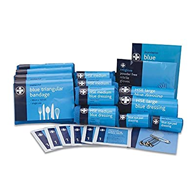 Reliance REL387 MasterChef HSE 10 Person All Catering First Aid Kit, Refill, Blue from Reliance Medical