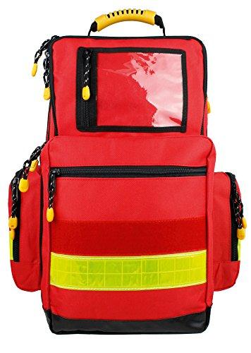 Notfallrucksack LARGE Rot Nylon 480 x 400 x 200 mm leer