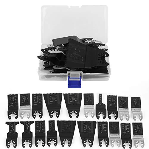 20 Stück Oszillierendes Sägeblattset Oszillierendes Sägeblatt-Kit aus hohem Kohlenstoffstahl Hocheffizientes Sägeblatt-Kit Schärfen zum Schneiden