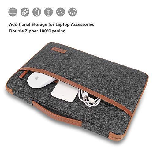 DOMISO 10 Zoll Tablet Tasche Wasserdicht Laptop Hülle Sleeve Notebook Schutzhülle für 9.7