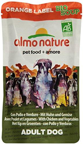 almo nature Orange Label BIO Soup Hundefutter mit Huhn und Gemüse, 30er Pack (30 x 140 g)