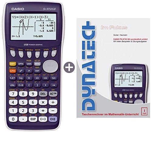 Casio FX-9750 G II + Buch: Im Fokus: Casio FX-9750GII verständlich erklärt