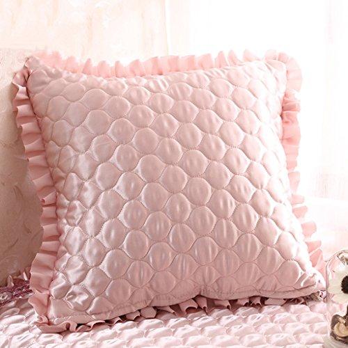uus Light Pink Sofa Coussin Convient pour Chambre / Salon / Bureau / voiture Mordern style chaleureux Home Decor ( edition : Cushion , taille : 45*45 )