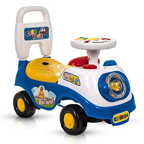 Fineway My First Ride On Cars Boys Girls Push Along Toddlers Infants...
