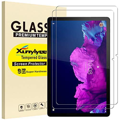 XunyLyee [2 unidades] Compatible con Lenovo Tab P11 Protector de pantalla, vidrio templado antiarañazos para Lenovo Tab P11 TB-J606F (11 pulgadas)