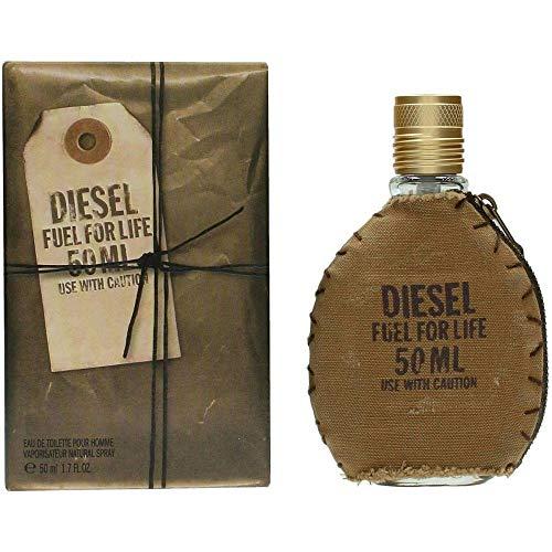Diesel Fuel For Life Eau De Toilette Spray 50 ml For Men