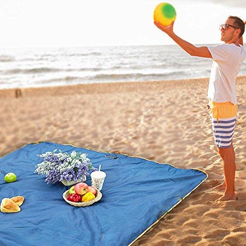 Jian Ya Na Outdoor Beach Deken Waterdichte Reistas Opvouwbare Picknick Mat Zand Gratis Mat
