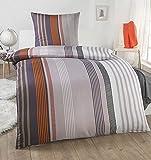DreamHome leichte Sommer Bettwäsche 135x200 2 teilig | ÖkoTex Zertifiziert & für Allergiker geeignet |Bettwäsche Set mit 1 Bettbezug 135 x 200 & Kissenbezug 80x80, Design - Motiv:Design 1