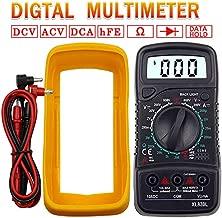 f/ür AC DC Volt Amp Ohm Kapazit/ätsfrequenz mit Durchgangspr/üfer elektrisches Messger/ät automatische Hintergrundbeleuchtung BTMETER BT-770S Multimeter manuelles Ranging