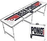 Mesa Oficial del Beer Pong | Topgun Tallas Oficiales | Impermeable y Resistente a rayones| Set de Bebida | OriginalCup®