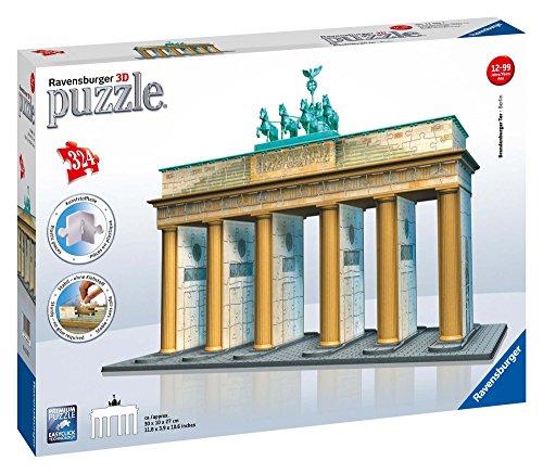 Ravensburger 3D Puzzle 12551 - Brandenburger Tor - 324 Teile