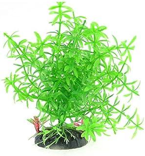 eDealMax Planta de agua acuario Emulación/Grass, 5,7, Verde