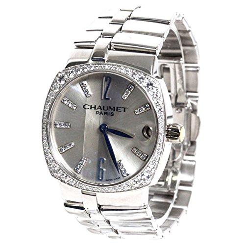 CHAUMET(ショーメ) 腕時計 ミス・ダンディ ス K18ホワイトゴールド ベゼルダイヤ レディース W11560-29F [並行輸入品]