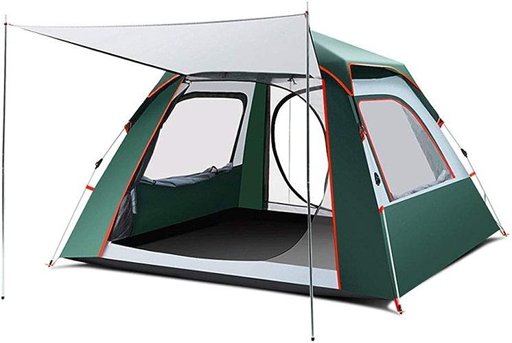 Sortir Udstyr, Tente de Camping avec Tente de Festival de la Technologie de la Chambre à Coucher Tente Essentielle de Clocher 100% étanche à la Pluie avec un Tapis de Sol Cousu, Kejing Miao,