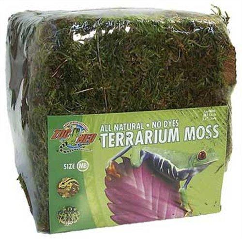 Zoo Med CF2-MBE Terrarium Moss Minibale 900g, natürliches Moos für Terrarien - ideal für Inkubatoren und Schutzhöhlen