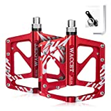 """Bike Pedals Ultralight Mountain Bike Pedals Aluminum bicycle pedals 9/16"""" with 3 Sealed"""