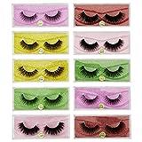 STRONGLO Wholesale Eyelashes 10/20/50/100 Pairs Faux 3D Mink Lashes Natural False Eyelashes Makeup Thick Mink Eyelashes (mix 50pair)