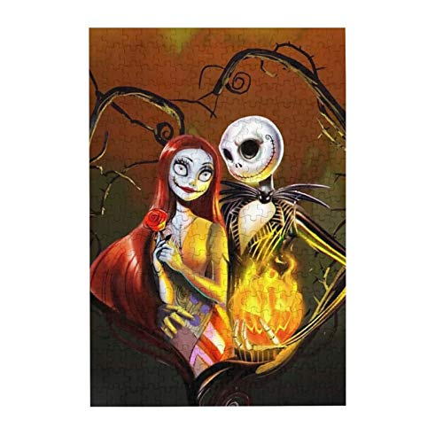 The Nightmare Before Christmas Wooden Jigsaw Puzzles for Adults Kids Challenging Puzzle Game 300 Piece/Pcs