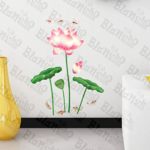 Patchs à Miss Lotus élégant – Stickers muraux Stickers Décoration intérieure