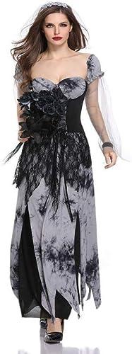 mode-Cos1 Vampire Robe De Sorcière Femmes HalFaibleeen Cosplay Costume Uniformes Costumes De Fête Stage Stage Costumes Zombie Robe De Mariée (Taille   M)