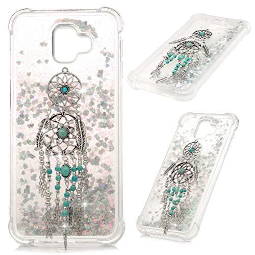 MOTIKO Huawei P8 Lite 2017 Caso 3D Glitter Liquido Scintillante Bling Bling Clear Cover Bling Gems TPU Gel Silicone Antiurto Custodia Protettiva Per Huawei P8 Lite 2017 - Acchiappasogni
