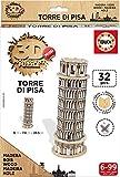 Giochi Grandi Mini Puzzle 3D in Legno Torre di Pisa