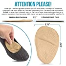 Metatarsal Pads   Metatarsal Pads for Women   Ball of Foot Cushions (2 Pairs Foot Pads) All Day Pain Relief and Comfort One Size Fits Shoe Inserts for Women (Beige) #1