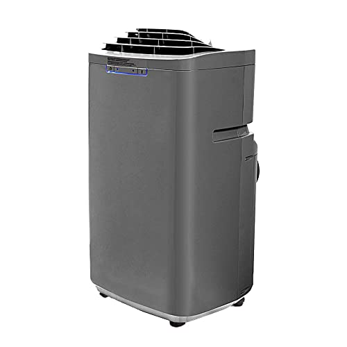Whynter ARC-131GD 13,000 BTU Dual Hose Portable Air Conditioner, Dehumidifier, Fan with