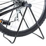 INION MHBS04 - Fahrradständer Fahrradhalter Montageständer Klappbar Für Vorderrad & Hinterrad Fahrrad Bike Ständer Halterung Bodenständer/chiavi