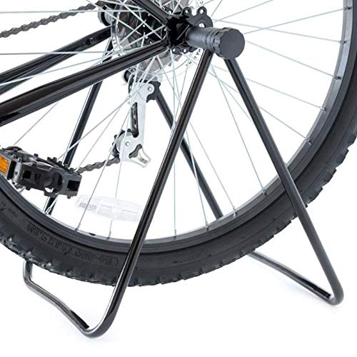 INION MHBS04 - fietsstandaard fietshouder montagestandaard inklapbaar voor voor- en achterwiel fiets standaard houder vloerstandaard/chiavi