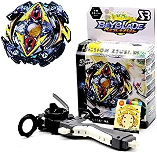 HAPPYTOYS Beyblade Metal Funsion 4D With Launcher Spinning Top Classic Toy Fighting Gyro,Black