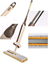 Toriox Double Sided Microfiber Flat, Easy Self Wringing Wet and Dry Flip Mop (Multicolour)