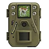 ScoutGuard Trail Camera - WiFi Game Camera Wildlife Hunting Scouting Cam Infrared Sensors Waterproof for Monitoring 100ft Detecting Range Motion Activated Night Vision SD Card & Remote Controller
