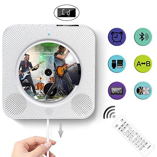 Creatieve trekkoordschakelaar ontwerp, haal de hendel om de weergave te beginnen met schermwand gemonteerde CD-speler, Bluetooth CD (2 stuks),A