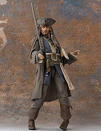 YXCC Piratas del Caribe Muerte sin Pruebas capitan Jack Johnny Depp Puede Hacerlo