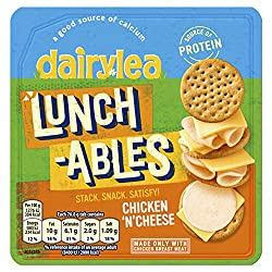 Dairylea Lunchables Chicken 'N' Cheese, 76.8 g