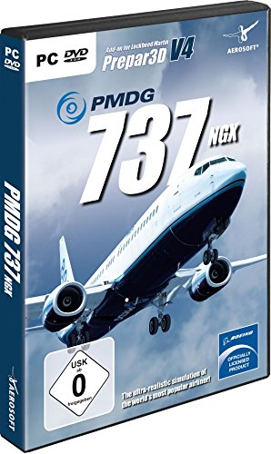 PMDG 737-8900 NGX Base Package für  P3D V3/V4 Standard [Windows 7]
