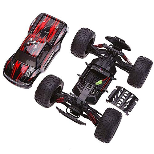 RC Auto kaufen Monstertruck Bild 3: s-idee® 18175 9115 RC Auto Buggy wasserdichter Monstertruck 1:12 mit 2,4 GHz über 40 km/h schnell, wendig, voll proportional 2WD ferngesteuertes Buggy Racing Auto*