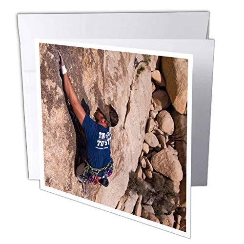 California, Joshua Tree National Park, Rock, Klettern, Grußkarte, 15,2x 15,2cm, Single (GC 88397_ 5)