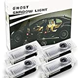 Spongent 4 luces para puerta de coche Courtesy Shadow 3D con proyector de logotipo Compatible con Mini Cooper R55 R56 R57 R58 R59 R60 R61 F54 F55 F56 F57