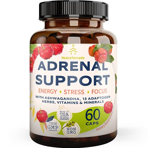 Adrenal Support & Cortisol Manager