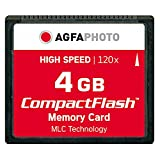 AgfaPhoto Compact Flash 4 GB High Speed 120x...