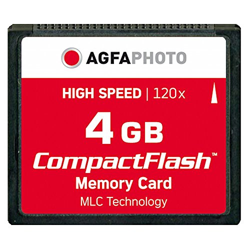 AgfaPhoto Compact Flash 4 GB High Speed 120x