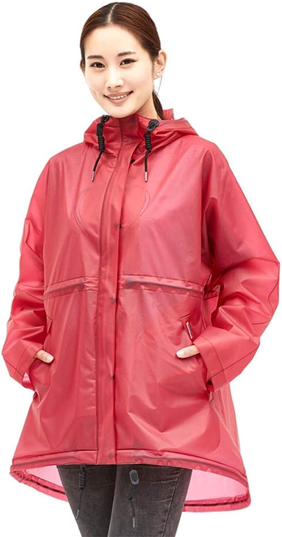 Geyao Transparente Regenmantel Weibliche Erwachsene Koreanische Mode Mnnlichen Outdoor Wandern Poncho Einzelnen Reise Regenmantel Regen Hosenanzug