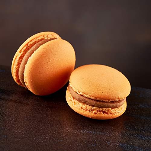 Ferrari & Arlineetti Macaron chocolade en oranje 18 g (10 stuks)