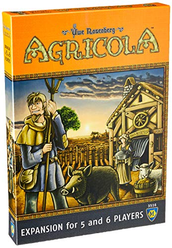Mayfair Games MFG03516 Brettspiel Agricola Expansion 5-6 Players