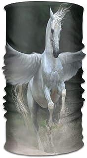?ユニセックスバンダナビーニーキャップターバンヘッドスカーフスウェットバンドヘッドウェアヘッドスカーフ翼のある馬