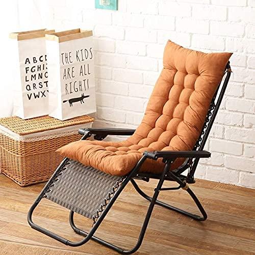 Almohadillas de cojín para tumbona, para viajes, vacaciones, para silla, de repuesto para silla mecedora de jardín, de Tatami con corbatas, 40 x 110 – 1 pieza